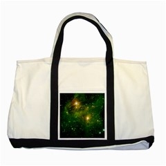HYDROCARBONS IN SPACE Two Tone Tote Bag