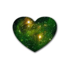 HYDROCARBONS IN SPACE Heart Coaster (4 pack)