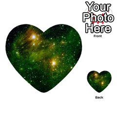 Hydrocarbons In Space Multi Purpose Cards (heart)