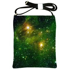 HYDROCARBONS IN SPACE Shoulder Sling Bags