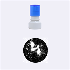 HYDROCARBONS IN SPACE Rubber Round Stamps (Small)