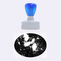 HYDROCARBONS IN SPACE Rubber Oval Stamps