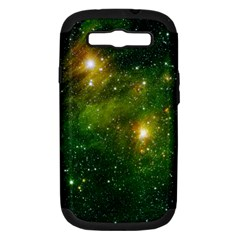 HYDROCARBONS IN SPACE Samsung Galaxy S III Hardshell Case (PC+Silicone)