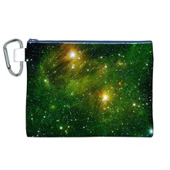 HYDROCARBONS IN SPACE Canvas Cosmetic Bag (XL)