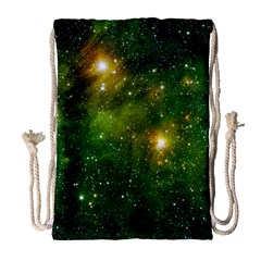 Hydrocarbons In Space Drawstring Bag (large)