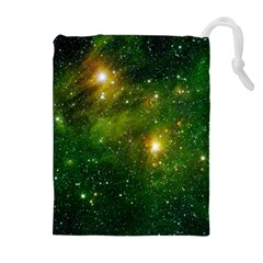 HYDROCARBONS IN SPACE Drawstring Pouches (Extra Large)