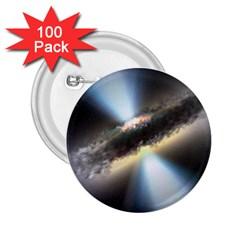 HIDDEN BLACK HOLE 2.25  Buttons (100 pack)