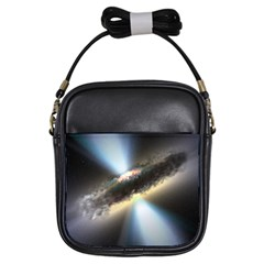 HIDDEN BLACK HOLE Girls Sling Bags