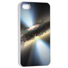 Hidden Black Hole Apple Iphone 4/4s Seamless Case (white)