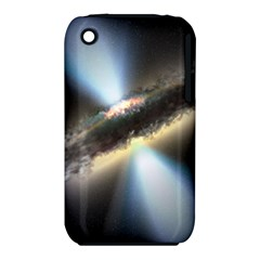 HIDDEN BLACK HOLE Apple iPhone 3G/3GS Hardshell Case (PC+Silicone)
