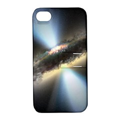 HIDDEN BLACK HOLE Apple iPhone 4/4S Hardshell Case with Stand