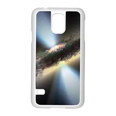 Hidden Black Hole Samsung Galaxy S5 Case (white)