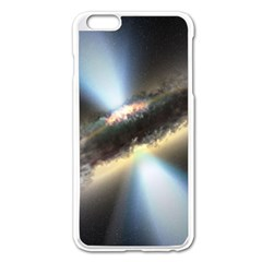 Hidden Black Hole Apple Iphone 6 Plus/6s Plus Enamel White Case