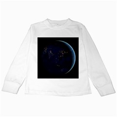 Global Night Kids Long Sleeve T Shirts