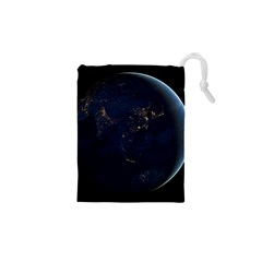 GLOBAL NIGHT Drawstring Pouches (XS)