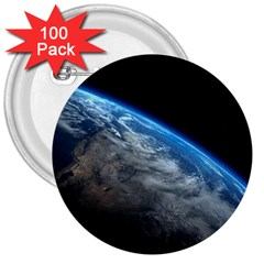 EARTH ORBIT 3  Buttons (100 pack)