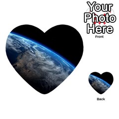 Earth Orbit Multi Purpose Cards (heart)