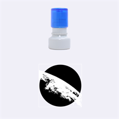 EARTH ORBIT Rubber Round Stamps (Small)
