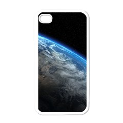 EARTH ORBIT Apple iPhone 4 Case (White)