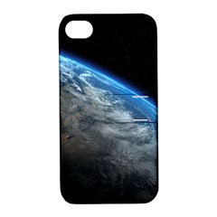 EARTH ORBIT Apple iPhone 4/4S Hardshell Case with Stand
