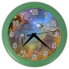 EAGLE NEBULA Color Wall Clocks