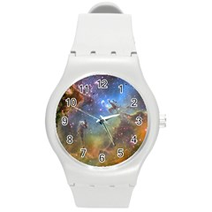 EAGLE NEBULA Round Plastic Sport Watch (M)