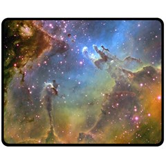 EAGLE NEBULA Double Sided Fleece Blanket (Medium)