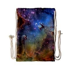 Eagle Nebula Drawstring Bag (small)