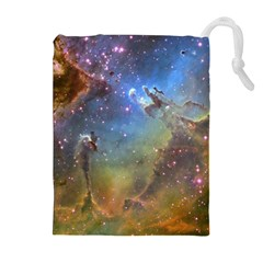 EAGLE NEBULA Drawstring Pouches (Extra Large)