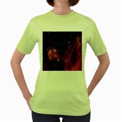 BARNARD 30 Women s Green T-Shirt