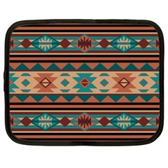 Southwest Design Turquoise and Terracotta Netbook Case (XXL)