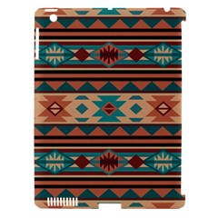 Southwest Design Turquoise and Terracotta Apple iPad 3/4 Hardshell Case (Compatible with Smart Cover)