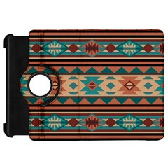 Southwest Design Turquoise and Terracotta Kindle Fire HD Flip 360 Case