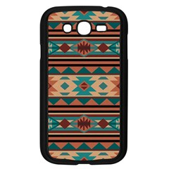 Southwest Design Turquoise and Terracotta Samsung Galaxy Grand DUOS I9082 Case (Black)
