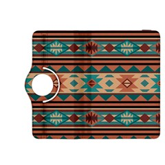 Southwest Design Turquoise and Terracotta Kindle Fire HDX 8.9  Flip 360 Case