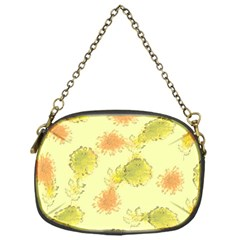 Shabby Floral 1 Chain Purses (One Side)