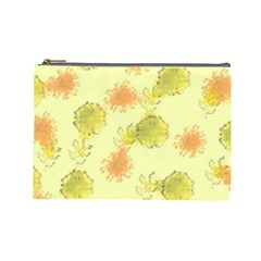 Shabby Floral 1 Cosmetic Bag (Large)