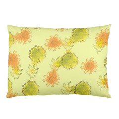 Shabby Floral 1 Pillow Cases (Two Sides)