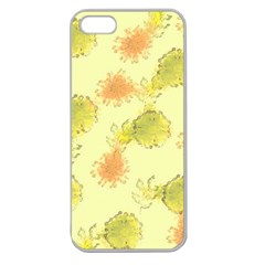 Shabby Floral 1 Apple Seamless iPhone 5 Case (Clear)