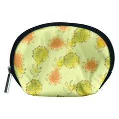 Shabby Floral 1 Accessory Pouches (Medium)