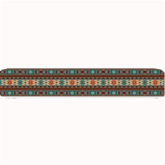 Southwest Design Turquoise And Terracotta Small Bar Mats