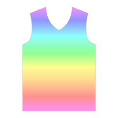 Rainbow Colors Men s Basketball Tank Top