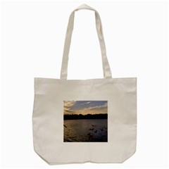 Intercoastal Seagulls 3 Tote Bag (Cream)