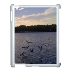 Intercoastal Seagulls 3 Apple iPad 3/4 Case (White)