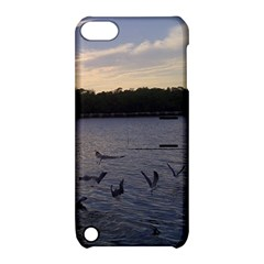 Intercoastal Seagulls 3 Apple iPod Touch 5 Hardshell Case with Stand