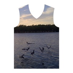 Intercoastal Seagulls 3 Men s Basketball Tank Top