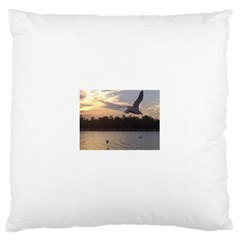 Intercoastal Seagulls 4 Large Cushion Cases (One Side)