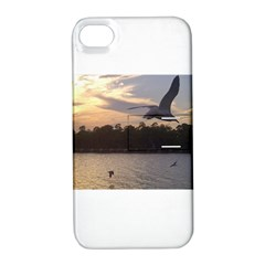 Intercoastal Seagulls 4 Apple iPhone 4/4S Hardshell Case with Stand