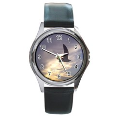 Seagull 1 Round Metal Watches