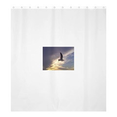 Seagull 1 Shower Curtain 66  x 72  (Large)